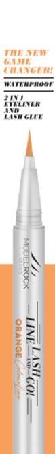 Line Lash & Go - Eyeliner Glue Adhesive Pen ORANGE