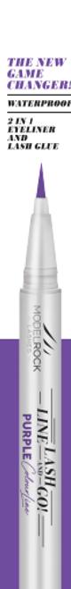 Line Lash & Go - Eyeliner Glue Adhesive Pen PURPLE