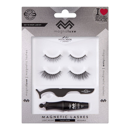MAGNA LUXE Magnetic Lashes + Accessories Kit - DAY to NIGHT