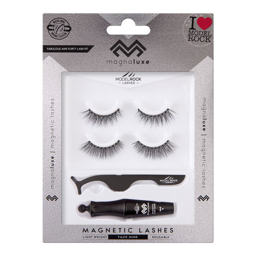 MAGNA LUXE Magnetic Lashes + Accessories Kit - FABULOUS & FLIRTY