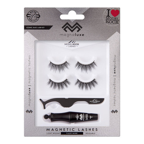 MAGNA LUXE Magnetic Lashes + Accessories Kit - ICONIC DUO