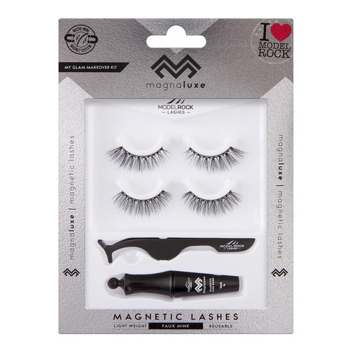 MAGNA LUXE Magnetic Lashes + Accessories Kit - MY GLAM MAKEOVER