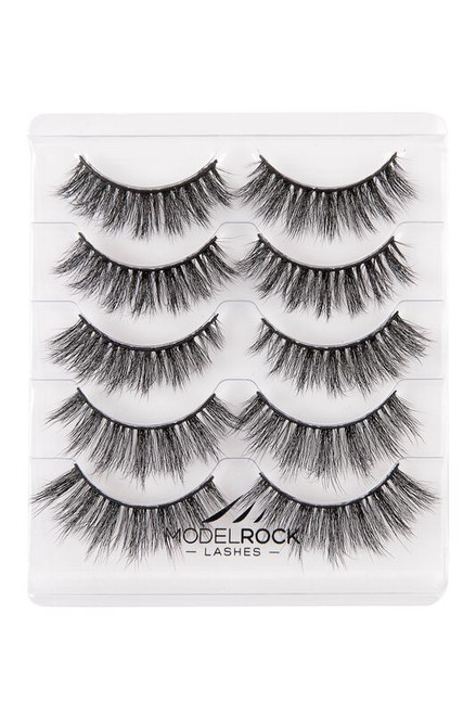 NO MINK // MULTIPACK Mixed 5 pair - Faux Mink Lashes - THE DOLL HOUSE COLLECTION