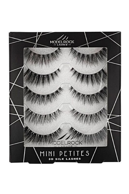 3D SILK Lashes - Holiday Multipack - PETITE MINI's Glam Me Up Collection - 5 pairs mixed styles