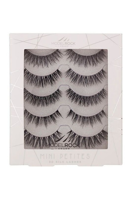 3D SILK Lashes - Holiday Multipack - PETITE MINI's Everyday Naturals Collection - 5 pairs mixed styles