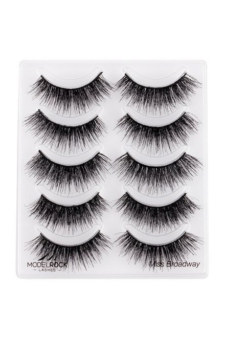 MULTI PACK x5 Miss Broadway - Double Layered Lash