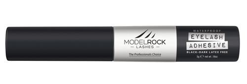 "MODELROCK - Lash Adhesive 5gm Waterproof DARK/BLACK - ""LATEX FREE"" - With ""Brush On"" applicator"