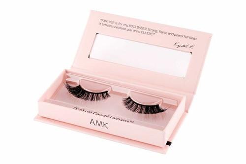 AMK Lash - ModelRock Lashes X KrystalK Makeup