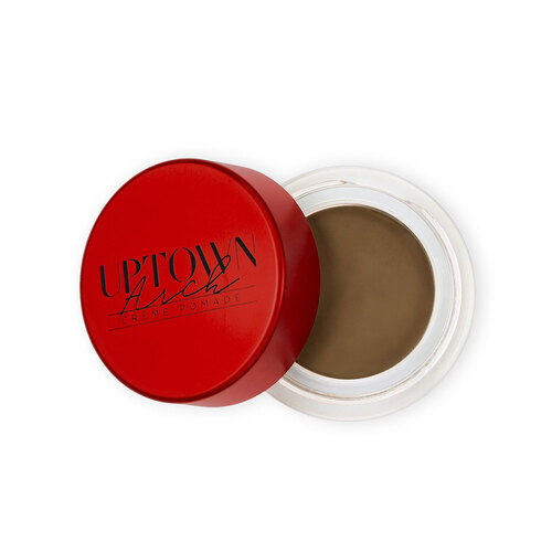 UPTOWN BROWS - CREME` POMADE - MEDIUM BROWN