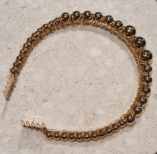 Gold Pearl Headband - By Madeline