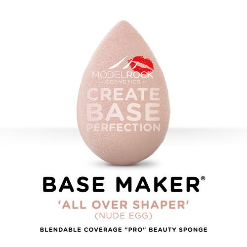 Base Maker® - Single Sponge - 'ALL OVER SHAPER' Nude Egg