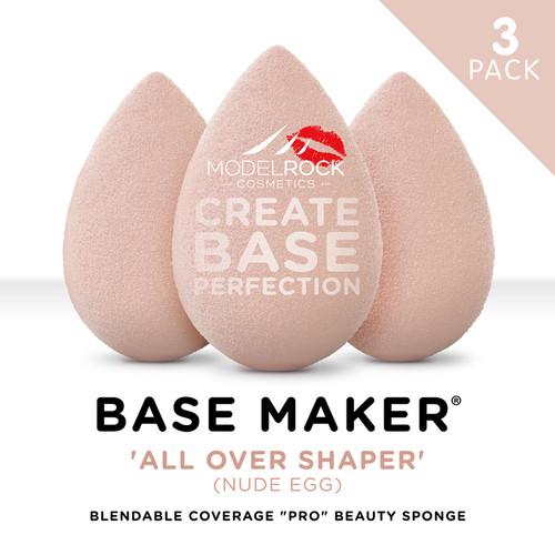PRO 3pk - Base Maker® - 'ALL OVER SHAPER' Nude Egg