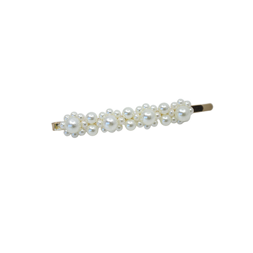 Floral Pearl Clip - By Madeline