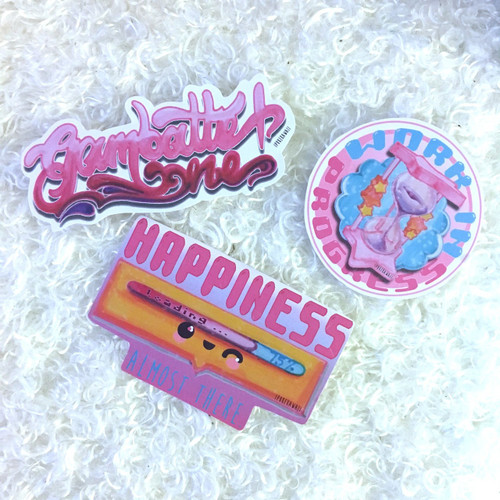 Sticker Pack #6 | Kawaii Empowerment