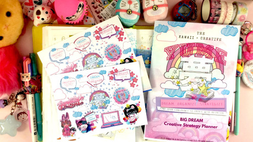 Kawaii Creative Planner Pack