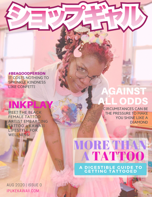 """Shoppe Gal, The Mag - Issue 0 """"Against All Odds"""""""