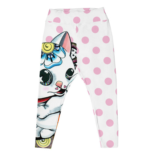 LIPS Manekineko Plus Size Leggings