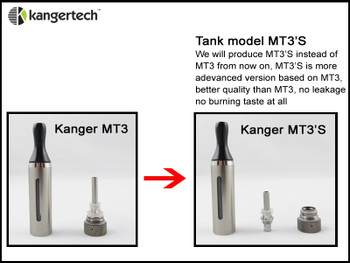 Kanger T3s/MT3s Replacement Coil 5pk