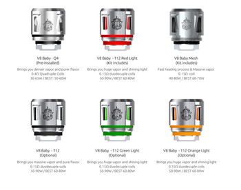 Smoktech Tfv12 Prince Baby Light Core (TFV8 Baby Coils)