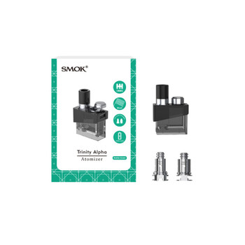 Smoktech Trinity Alpha Pods (with 2 coils)