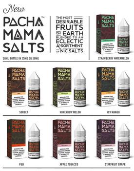 Pachamama Salts Premium E-Liquid 30ml
