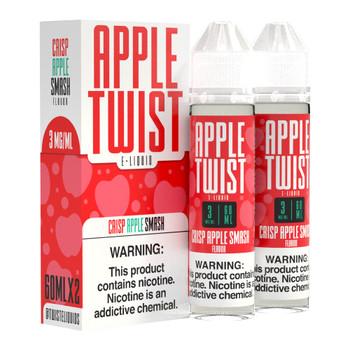 Apple Twist Premium E-Liquid 60ml 2pk