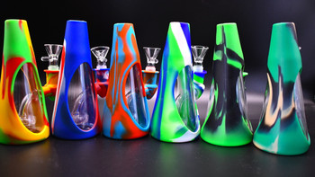 Cone Silicone Water Pipe