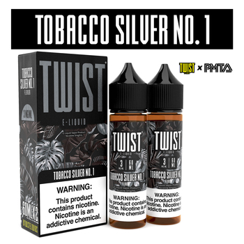 TWIST Menthol & Tobacco Premium E-Liquid 60ml 2pk
