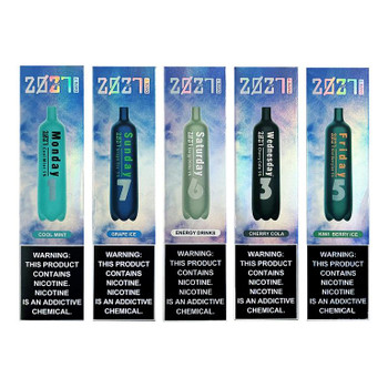 2027 Date 7 Disposable 2000 Puffs