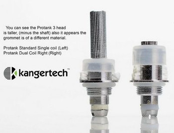 Kanger Upgraded Replacement Bottom Dual Coils 5pk