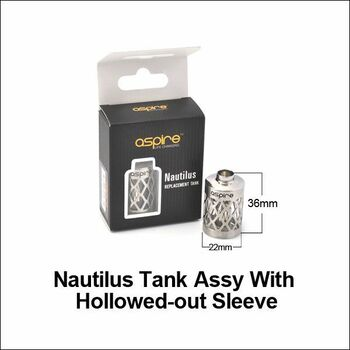 Aspire Nautilus Hollow Replacement Tank Assembly
