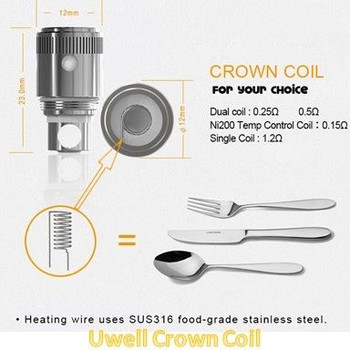 Uwell Crown Coils (4pk)
