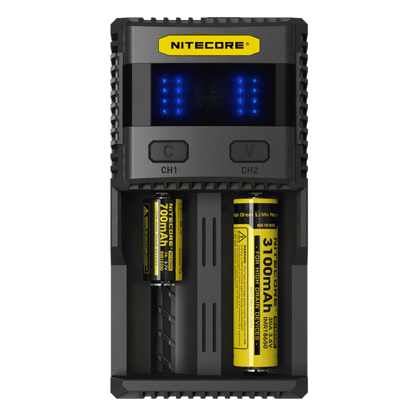 Nitecore SC2 Charger (3A Max Output)