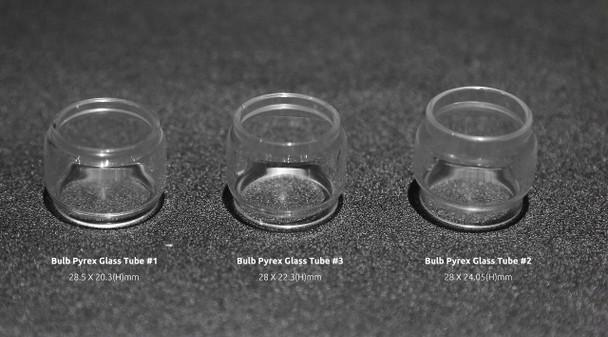 Smoktech Bulb Pyrex Glass Tube #1 (1pc) TFV8 Big Baby Tank