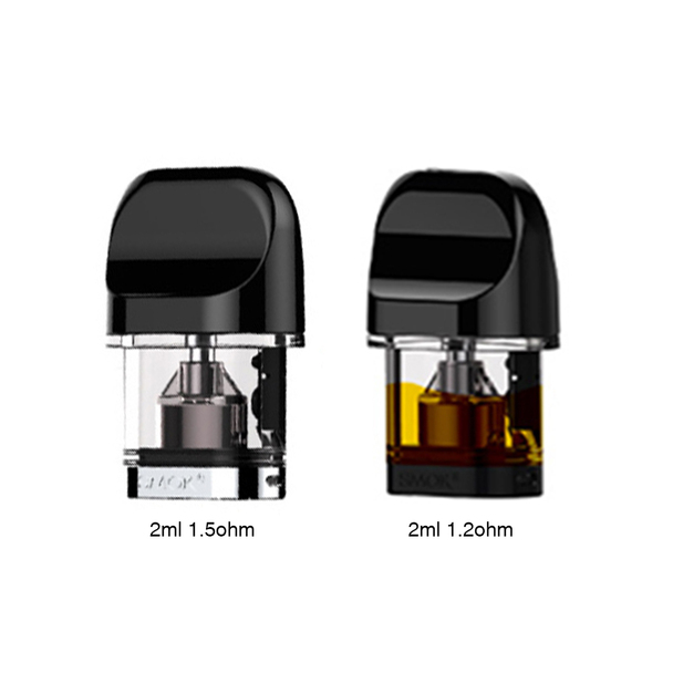 Smoktech Novo Replacement Pods/Coils (2ml / 3 Pack)