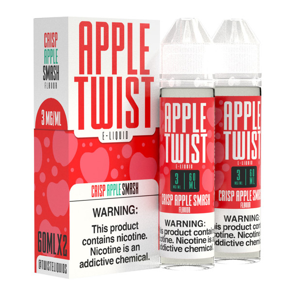 Apple Twist Premium E-Liquid 60ml 2pk