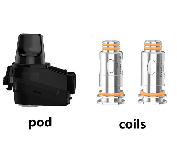 GeekVape Aegis Boost Pod with 2 Coils