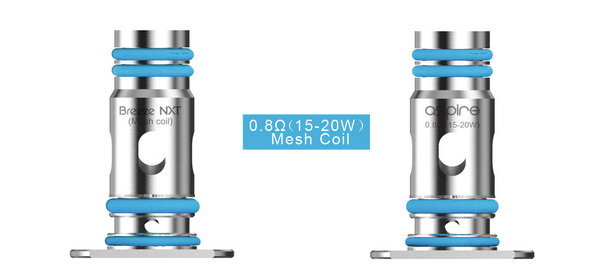 Aspire Breeze NXT Mesh Coil 0.8ohm 3pk