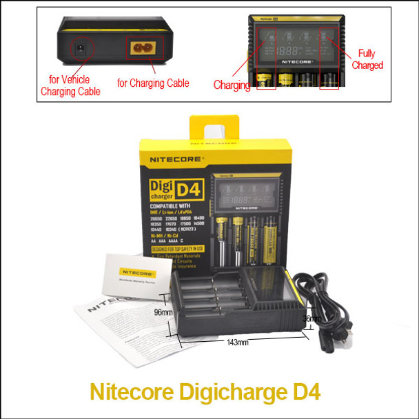 Nitecore D4 Intellicharger