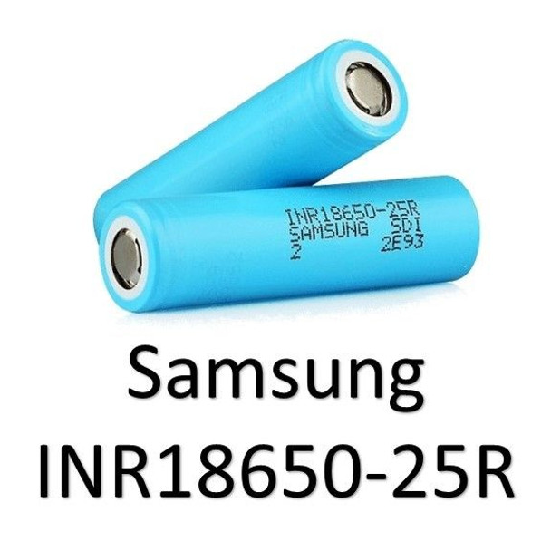 Samsung INR18650 - 25R (NOW 2 Pack).