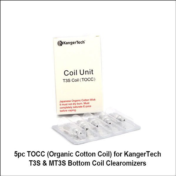 Kanger TOCC Replacement Coils 1 8ohms 5pk