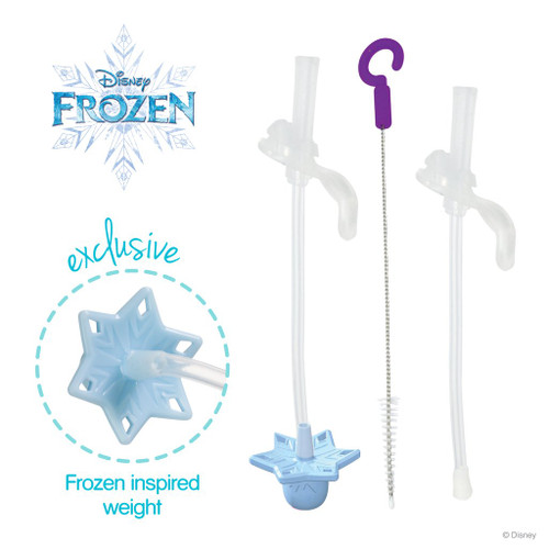 *NEW* Disney - Elsa sippy cup straw replacement pack