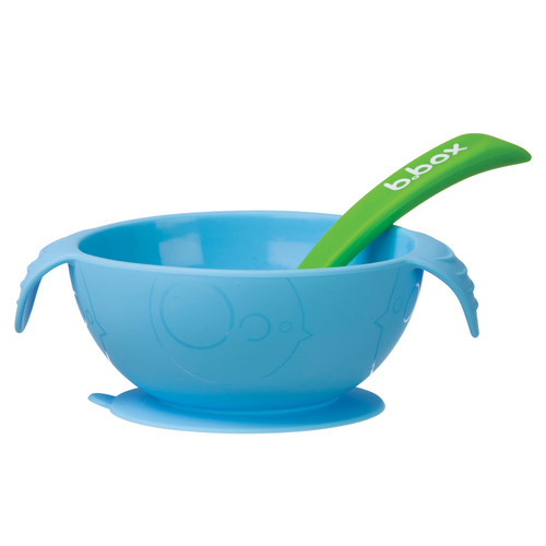 silicone first feeding set - ocean breeze
