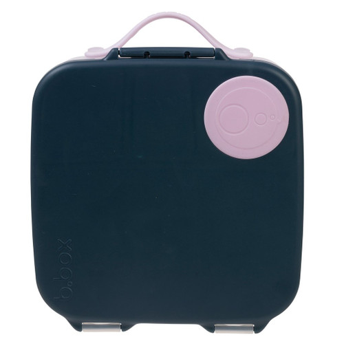 *new* lunchbox - indigo rose