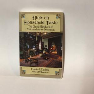 HINTS ON HOUSEHOLD TASTE