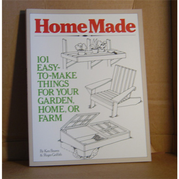 HOMEMADE; 101 EASY THINGS TO MAKE THINGS FOR YOUR HOME/GARDEN