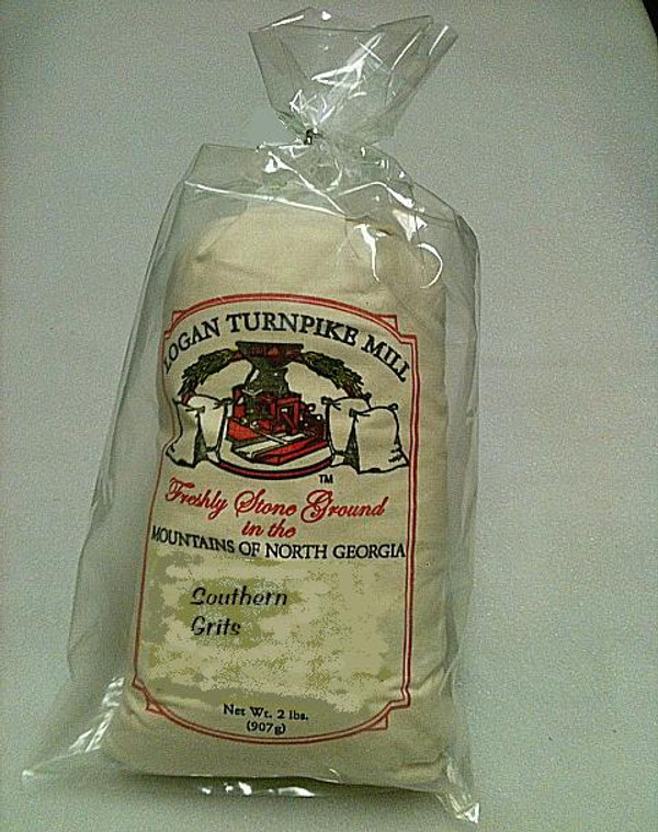 WHITE SPECKLED STONE-GROUND GRITS