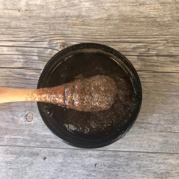 Peppermint & Vanilla Salt Scrub