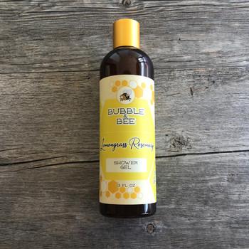 Lemongrass Rosemary Shower Gel