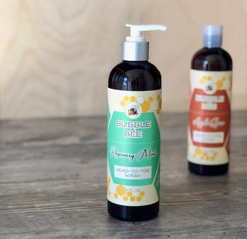 Rosemary Mint Head-to-Toe Wash (Formerly Hard Water Shampoo) 12 oz